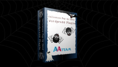 Carte pop-up Halloween - Plugin Wordpress