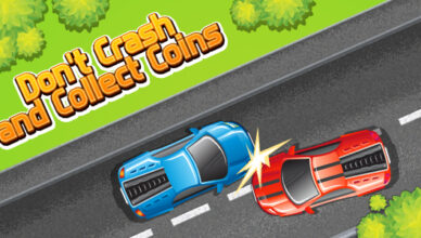Don't crash and collect coins (CAPX and HTML5)